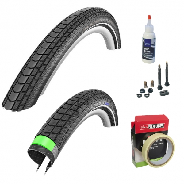 Tubeless Bereifung: Schwalbe Almotion und Big Ben Plus (tubeless inoffiziell)